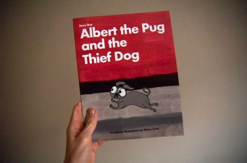 Garry_cook_albert_the_pug_dog_thief